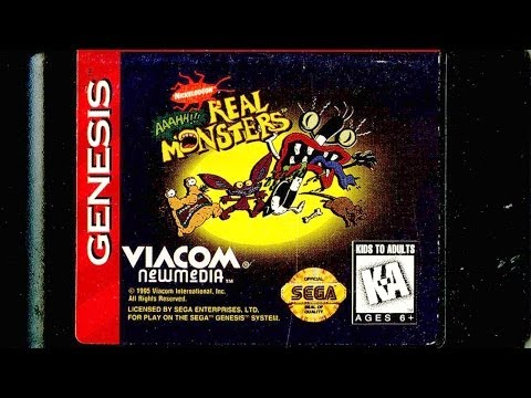 CGR Undertow - AAAHH!!! REAL MONSTERS review for Sega Genesis thumbnail