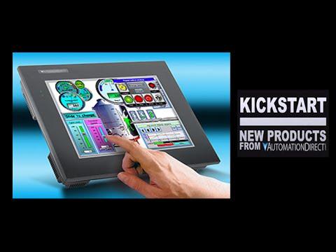 C-more HMI Touch Panel New EA9 Series KickStart | AutomationDirect