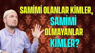 Samimi olanlar kimler, samimi olmayanlar kimler? / 19.02.2014 / Kerem Önder