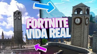 CHOPPED FLOORS, PLACIVE PARK.... in REAL LIFE!! FORTNITE LOCATIONS IN REAL LIFE!!