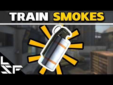 MUST KNOW TRAIN SMOKES - CS:GO Smoke Tutorial