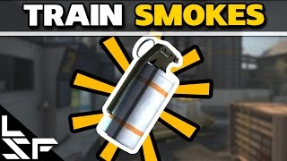 MUST KNOW TRAIN SMOKES - CS:GO Smoke Tutorial