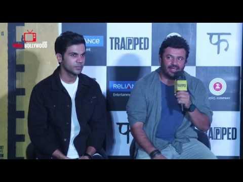 Uncut Trapped Trailer Launch Rajkummar Rao Vikramaditya Motwane Viralbollywood