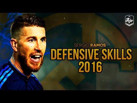 Sergio Ramos 2016  Crazy Defensive Skills & Tackles  HD   1080p