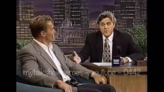 SCHWARZENEGGER has FUN with LENO - 'TRUE LIES'
