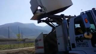 RC Enterprise Companies - Street Sweeping Hopper Dump