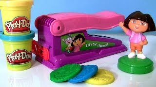 Play Doh Dora the Explorer Fun Factory Machine Dough Maker Nickelodeon Fabrica Loca - Le Serpentin