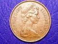 UK 1977 Two New Pence Great Britain
