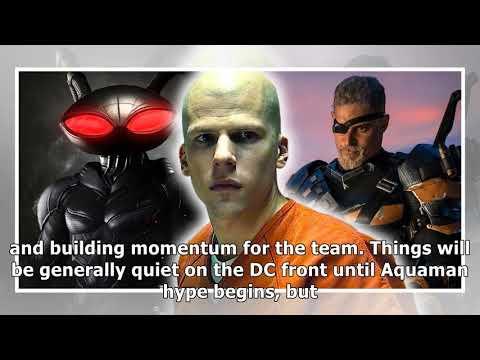 rumor dc films planning massive legion of doom storyline