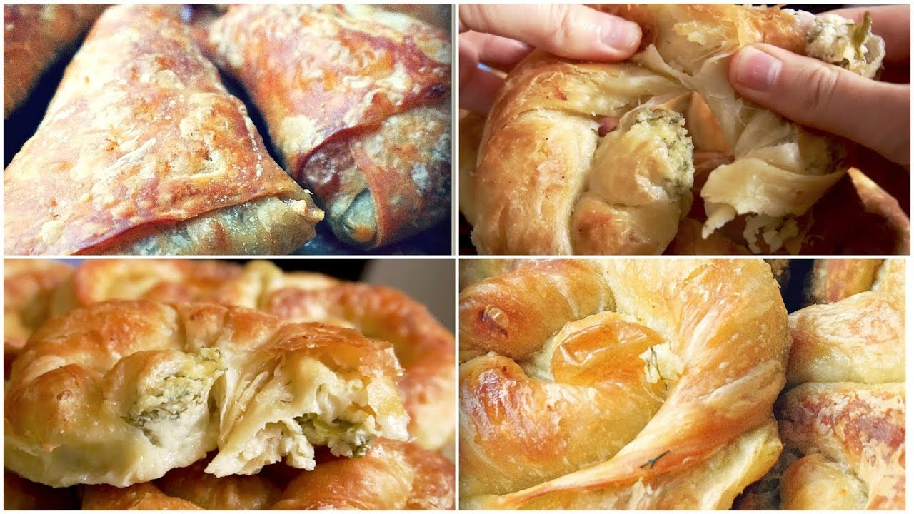 Easy Homemade Puff Pastry Dough From Scratch Cheese Rolls And Apple Turnovers Recipe