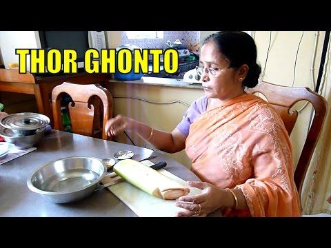 Thor Ghonto - Banana Stem Fry