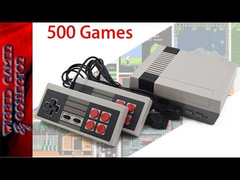 Fake Mini Nes Classic Console Game 500 in 1 Machine Nintendo Review / Chinese Knock off