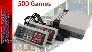 Fake Nintendo Nes Mini Classic Family Computer \ 500 in 1 / Game Console | Clone System / Review