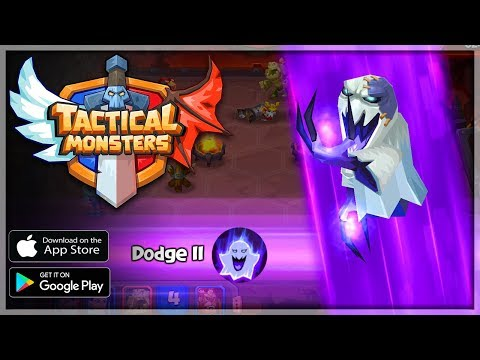 TACTICAL MONSTER RUMBLE ARENA Gameplay - Android/iOS APK - Strategy CCG Card Game RPG