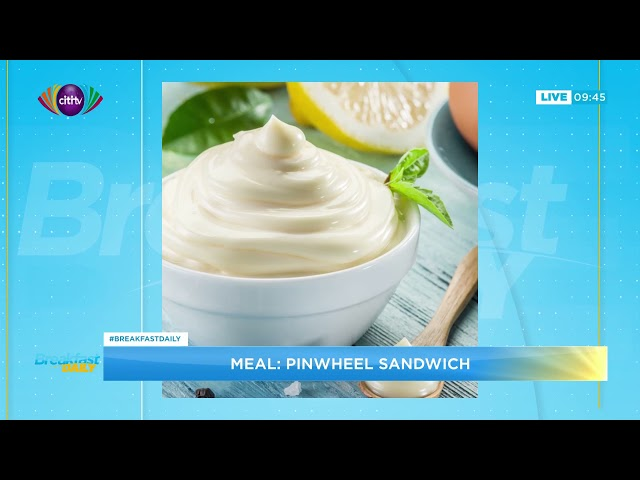 Cooking segment: Preparing Pinwheel sandwich | Breakfast Daily