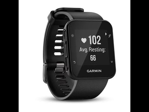 *New! Review Garmin Forerunner 35 ; Easy to Use GPS Running Watch, Black