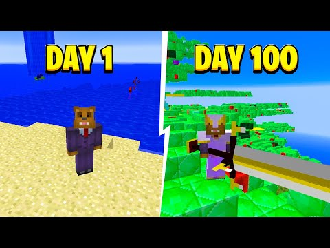 I Survived 100 Days in Minecraft Crazy Craft (Here's What Happened)