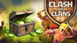 Clash of Clans - How To Get The Gem Box FAST (25 Free Gems Tips)