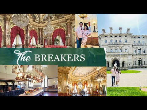 Touring the most visited Mansion at Rhode Island - The Breakers || Telugu Vlog ||