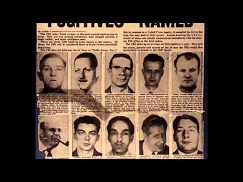 14th March 1950: FBI launches its 'Ten Most Wanted' list