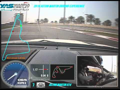 Driving The Aston Martin GT4 in Abu Dhabi