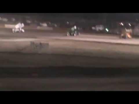 6/7/14 Anthony Farnsworth #10 Main Part 3-Casper Speedway