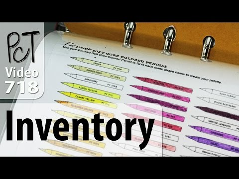 Studio Supplies Inventory System For Your Paper Planner