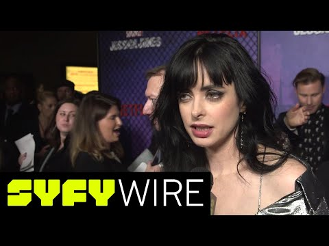 Jessica Jones Season 2 Red Carpet Preview | SYFY WIRE