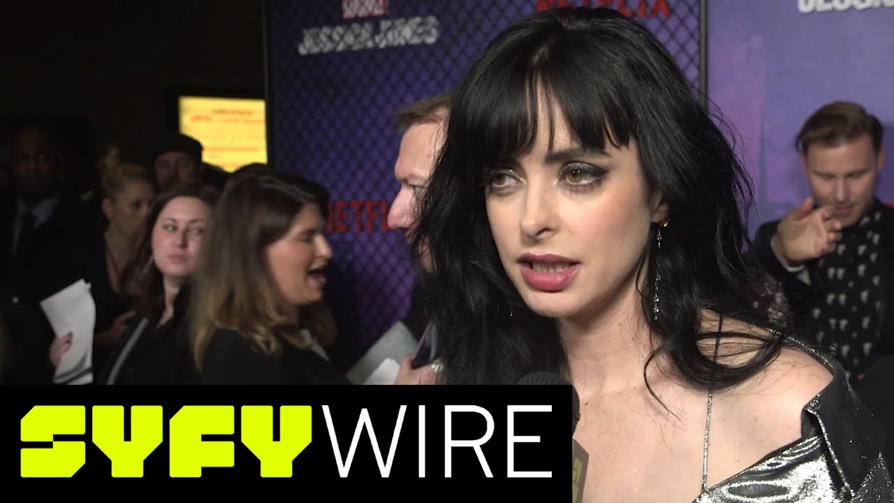 Jessica Jones Season 2 Red Carpet Preview | SYFY WIRE