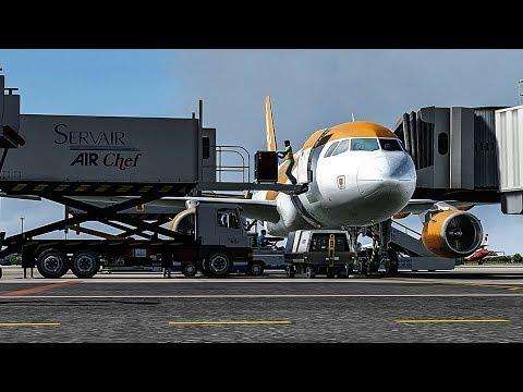 New Flight Simulator 2018 in 4K   Beautiful Realism   P3D 4.3 Mp3