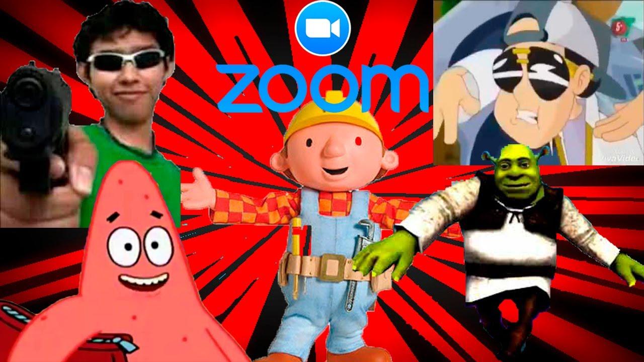 Bob kchero, dracukeo, fernanfloo y más en Zoom| Trolleos en Zoom #12| CDER16