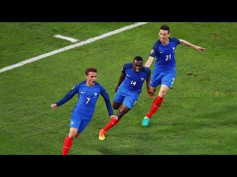 Le parcours de l'Equipe De France à l'EURO 2016 !