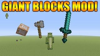 Minecraft Xbox Ps3 New Amazing Giant Blocks Items Mod