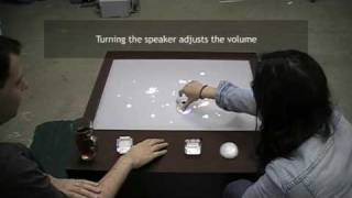 Amusity - Musical Coffee Table - Interaction Design
