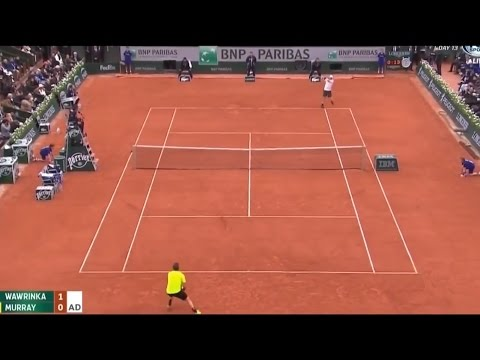 Andy Murray vs Stanislas Wawrinka Highlights Roland Garros Semi Final 2016 (HD)