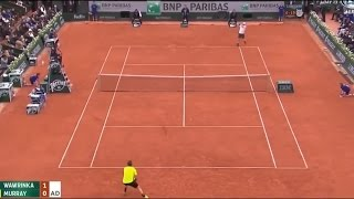 Andy Murray vs Stanislas Wawrinka Highlights Roland Garros Semi Final 2016 (HD)