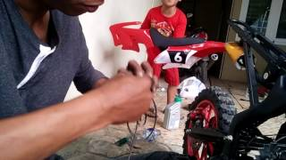 Video Pasang per pull stater mini motocross 49cc part:1 download MP3, 3GP, MP4, WEBM, AVI, FLV Juni 2018