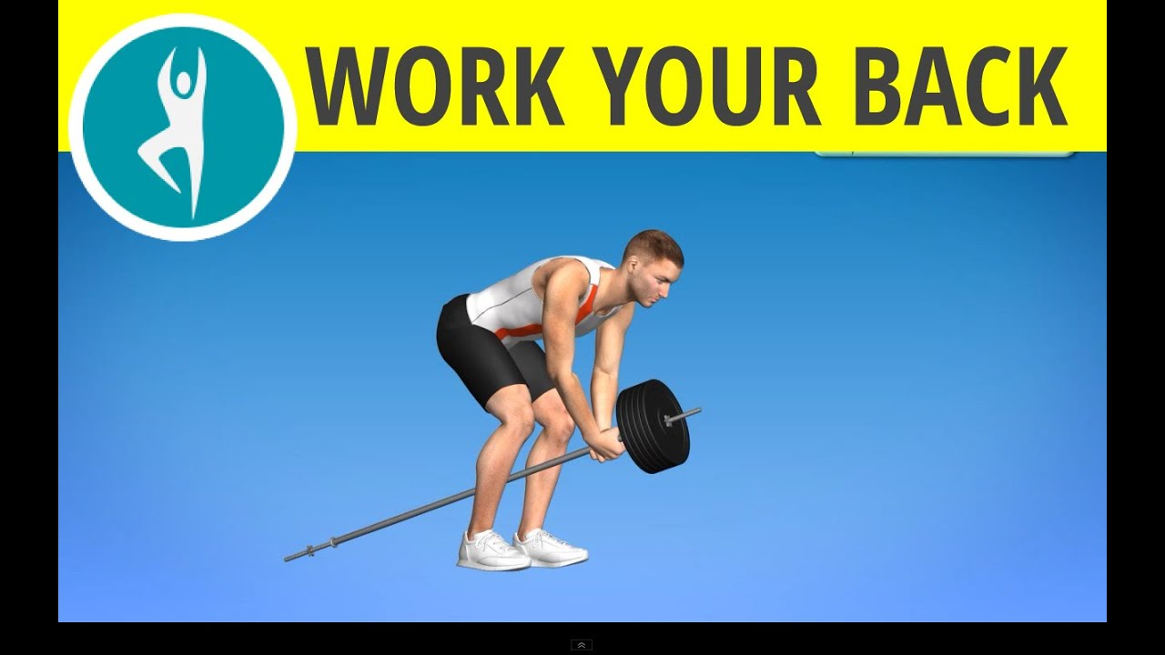 Back Exercises For Men Back Biceps Lats Weights Wokrout At Home