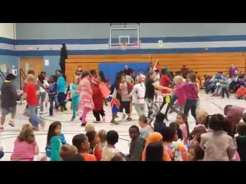 Anne Sullivan Elementary School's Cultural Night - 2016 Sioux Falls SD, USA