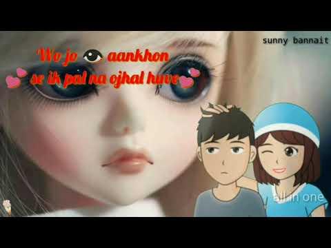 Wo Jo Aankhon--- Se Ek Pal Na Ojhal Hua Sad...  New  WhatsApp Status Sunny