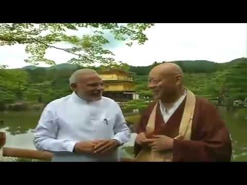 PM Modi visits Kinkaku-ji Temple in Kyoto