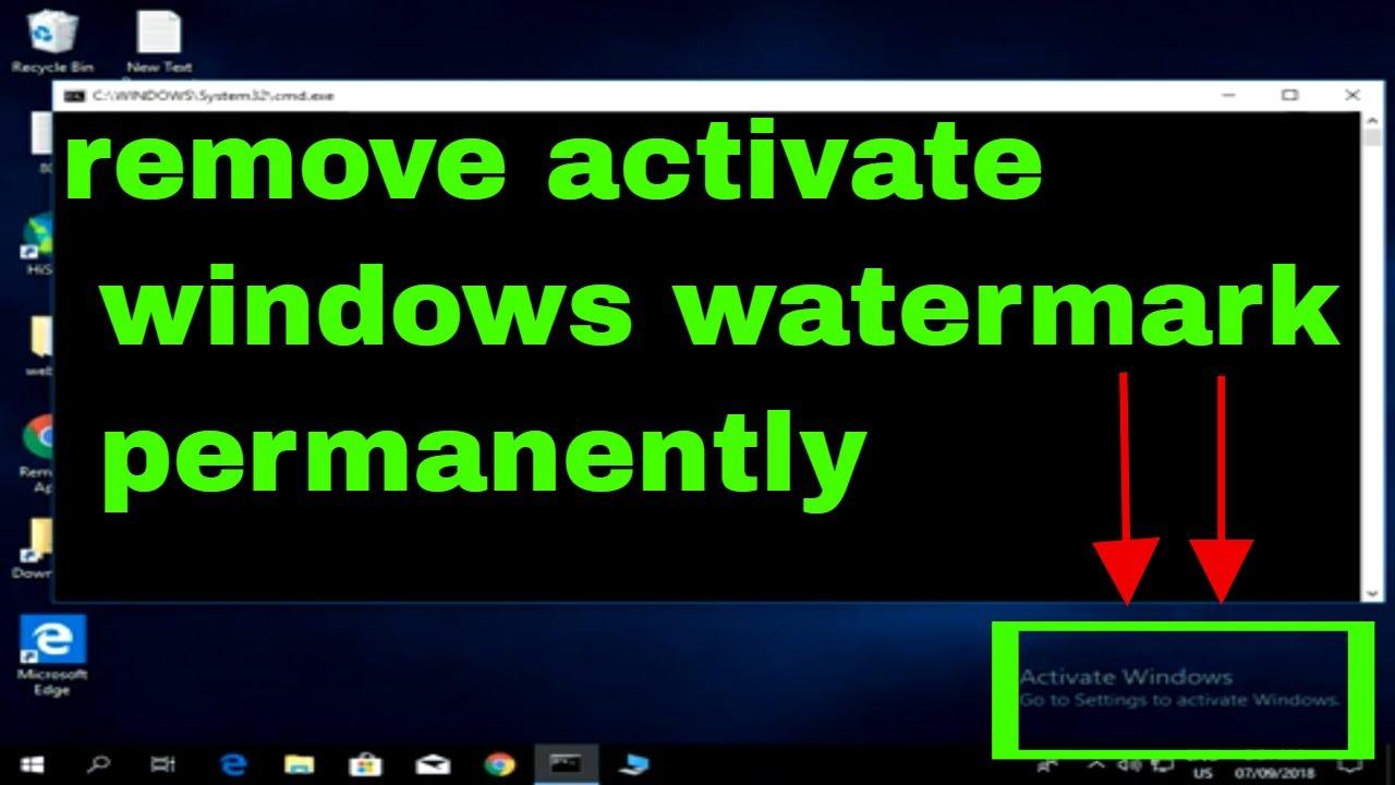 Remove Activate Windows 10 Watermark Permanently Reddit