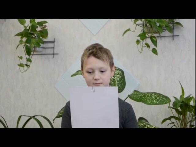 Изображение предпросмотра прочтения – ЯрославГудков читает произведение «Что такое хорошо и что такое плохо» В.В.Маяковского
