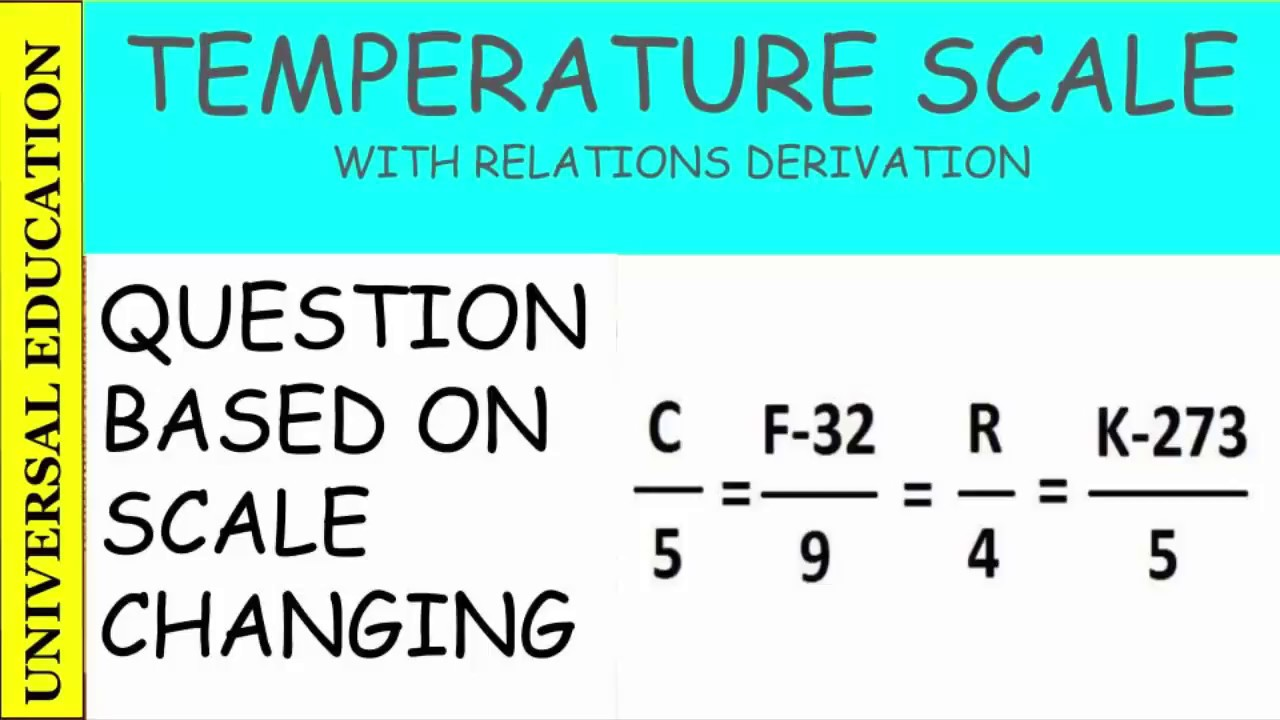 question of temperature scale conversion celcius to kelvin to