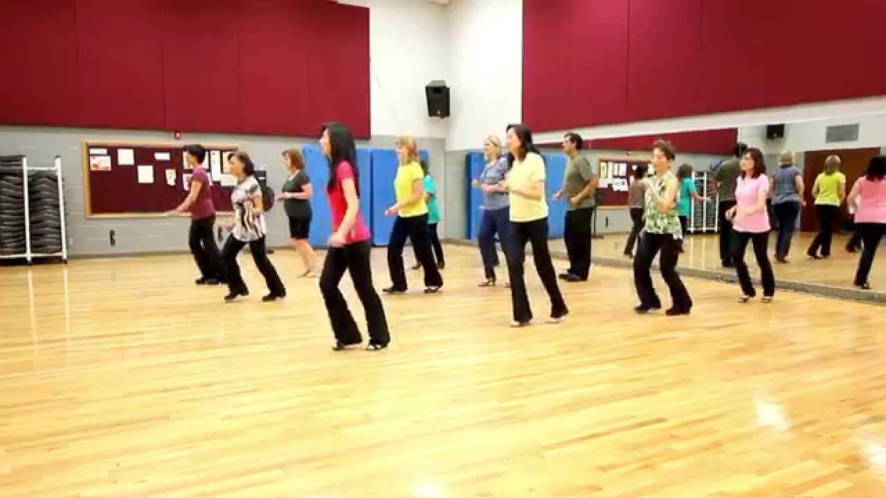 Balla Con La Luna Line Dance(High Beginner Level) - YouTube