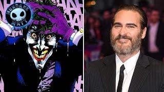 WTF - Joaquin Phoenix in talks for JOKER origin movie?