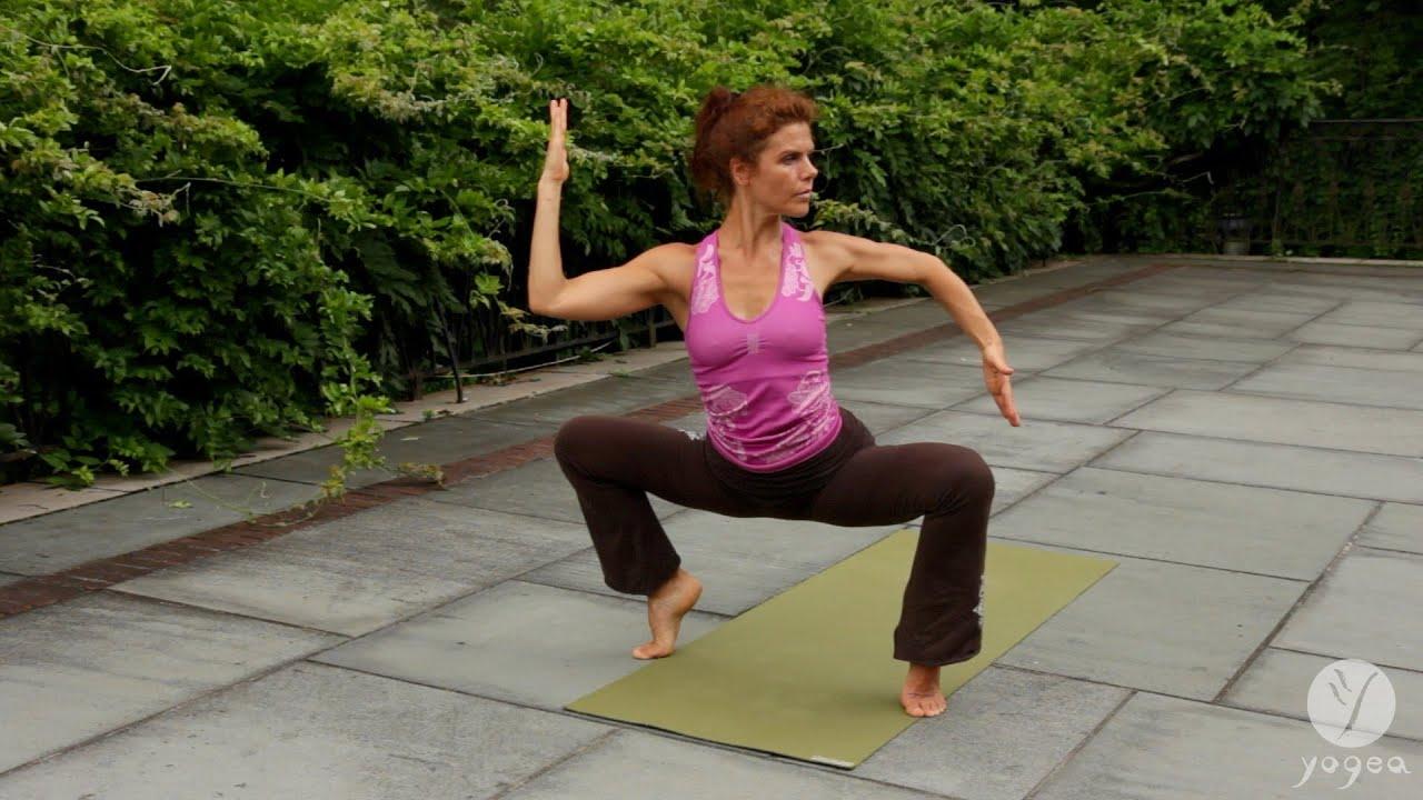 Women's Flow Yoga Routine: Fertility Bliss (intermediate