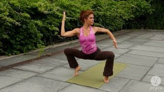 Women's Flow Yoga Routine: Fertility Bliss (intermediate level)
