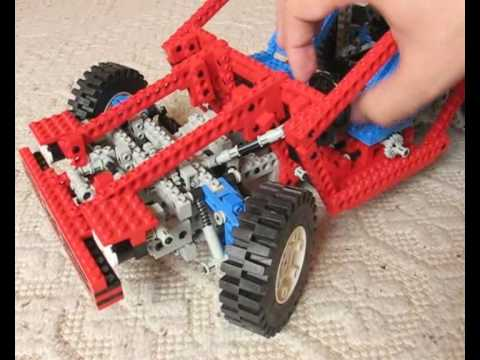lego technic 8865 test car youtube. Black Bedroom Furniture Sets. Home Design Ideas