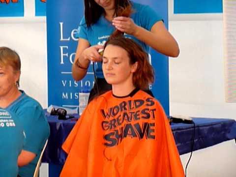 Girl shaving head Adelaide
